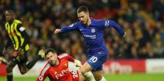 Chelsea Sumringah, Eden Hazard Ingin Jadi Legenda The Blues