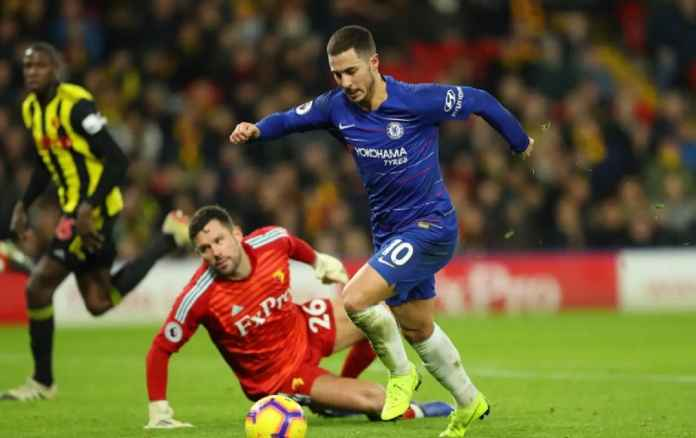 Chelsea Sumringah, Eden Hazard Ingin Jadi Legenda The Blues