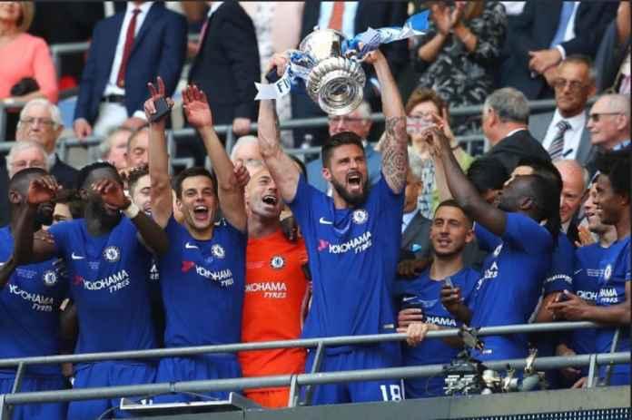 Pemain Chelsea Olivier Giroud Rebut Gelar Liga Inggris Sebelum Pensiun