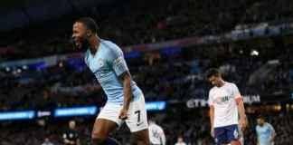 Raheem Sterling Ukir Sejarah Saat Manchester City Kalahkan Bournemouth