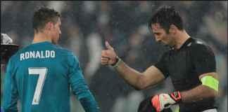 Gianluigi Buffon Enggan Komentari Tak Hadirnya Cristiano Ronaldo di Ballon d'Or