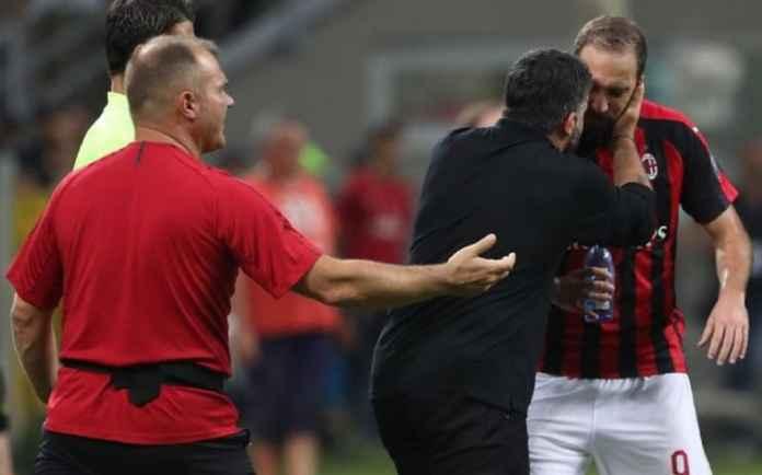 AC Milan Tolak Barter Gonzalo Higuain dengan Alvaro Morata