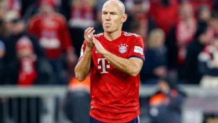 Arjen Robben Tinggalkan Bayern Munchen Akhir Musim Ini
