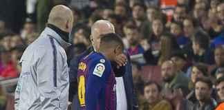 Malcom Menangis Usai Cedera di Laga Barcelona Kontra Cultural Leonesa