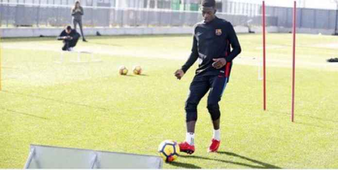 Ousmane Dembele Bikin Pelatih Barcelona Makin Frustrasi