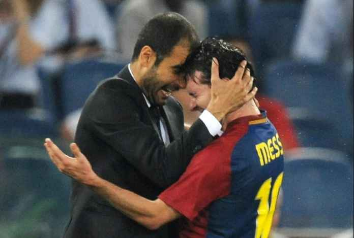 Lionel Messi Ingin Reuni dengan Pelatih Manchester City, Pep Guardiola