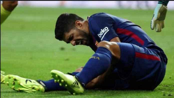 Barcelona Mulai Khawatirkan Cedera Lutut Luis Suarez