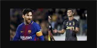 Cristiano Ronaldo Tantang Lionel Messi Pindah ke Liga Italia