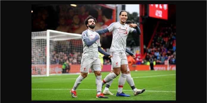 Mohamed Salah Hattrick Saat Liverpool Menang 4-0, Rebut Puncak Top Skor