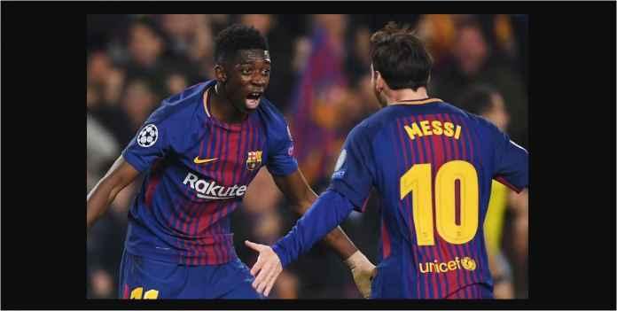 Barcelona Bersiap Hukum Dembele Pada Laga Liga Champions