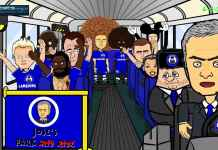 video mourinho parkir bus