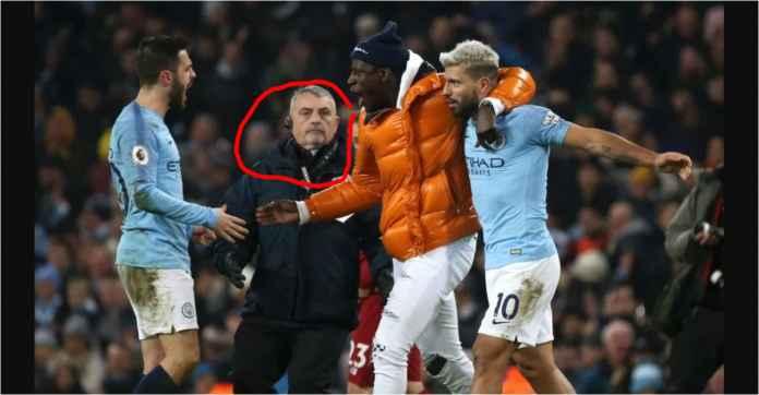Lihat Steward Manchester City Ini, Nyaris Smack Down Benjamin Mendy