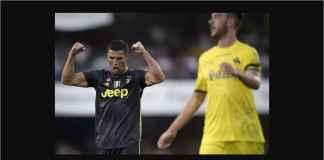 Cristiano Ronaldo Terbang ke Madrid Usai Laga Juventus vs Chievo