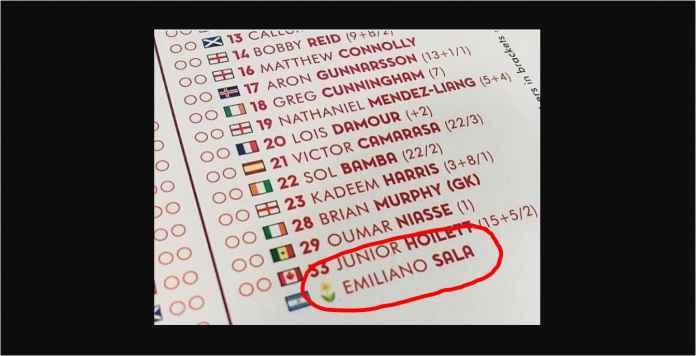 Mengharukan! Nama Emiliano Sala Masuk Susunan Pemain Arsenal vs Cardiff