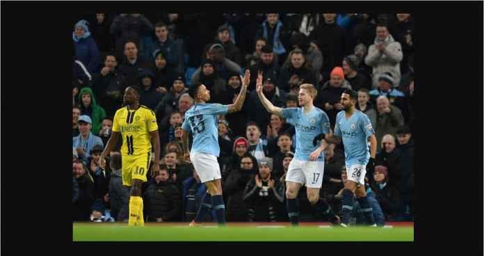 Manchester City Kejam Betul! Empat Gol di Akhir Babak Pertama!