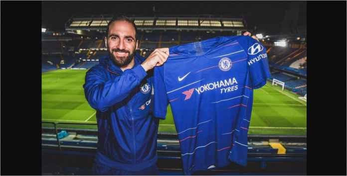 Gonzalo Higuain Resmi Chelsea, Tapi Telat Untuk Laga Semi Final Nanti Malam