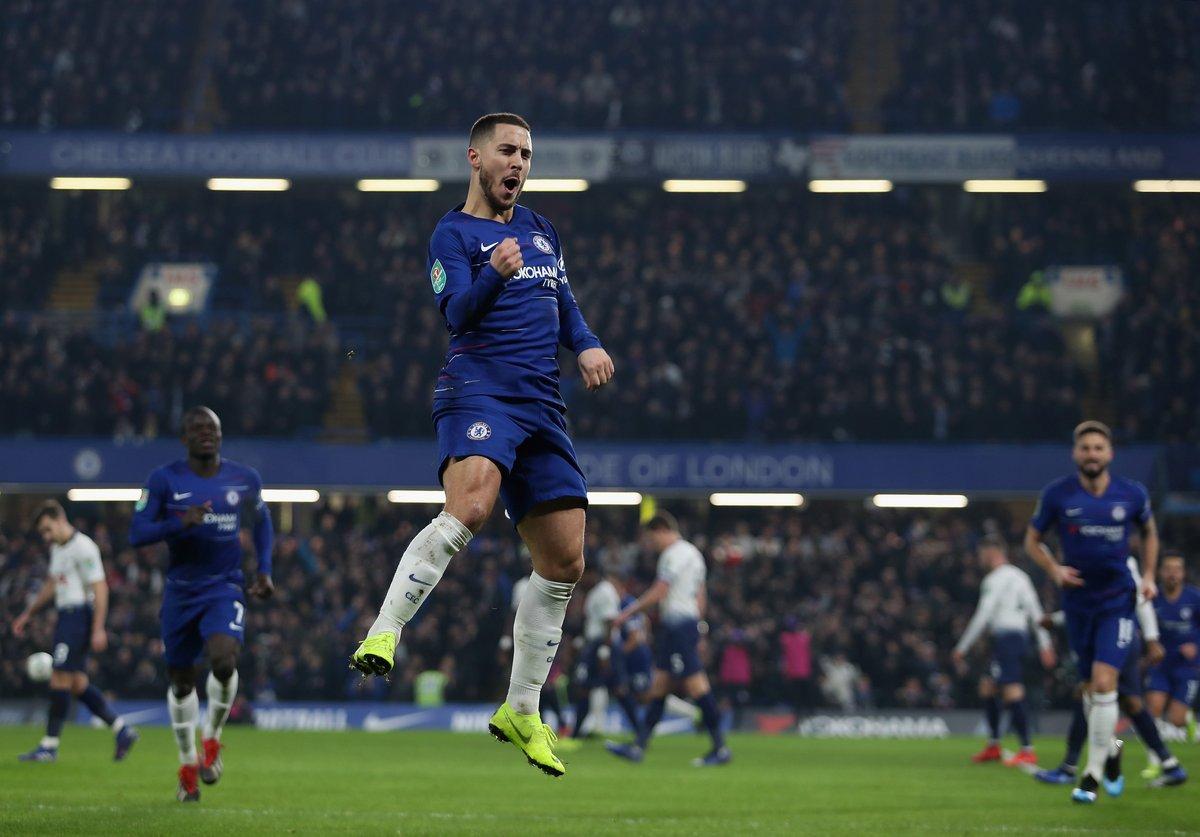 Hasil Piala Liga Inggris: Chelsea Singkirkan Tottenham ...