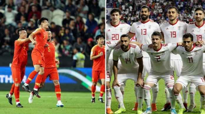 Hasil China vs Iran, Piala Asia AFC 2019