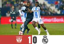 Hasil Leganes vs Real Madrid, Copa del Rey