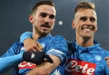 Hasil Napoli vs Sassuolo, Coppa Italia