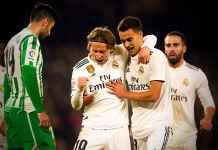 Hasil Real Betis vs Real MAdrid, Liga Spanyol