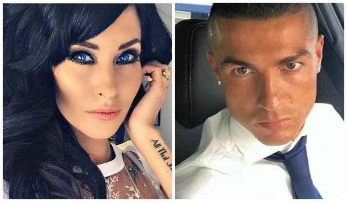 Jasmine Lennard mantan kekasih Cristiano Ronaldo