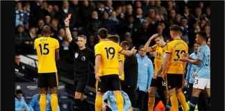 Wolverhampton Kartu Merah! Manchester City Unggul