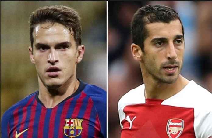 Arsenal Ambisi Boyong Denis Suarez Gantikan Henrikh Mkhitaryan