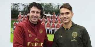 """Unai Emery yakin Denis Suarez akan 'membawa kualitas' ke Arsenal setelah The Gunners menyelesaikan penandatanganan gelandang dari Barcelona. Pemain berusia 25 tahun itu bergabung dengan Arsenal dengan status pinjaman tetapi The Gunners memiliki opsi untuk mengontrak pemain tengah itu dengan nilai € 25 juta (£ 21,7 juta) di musim panas. Langkah ini melihat Suarez menghubungkan kembali dengan Emery untuk kedua kalinya dalam karirnya setelah ia bermain di bawah pembalap Spanyol selama satu musim di Sevilla. Selama kampanye itu, Suarez membantu tim Emery memenangkan Liga Eropa dan manajer Arsenal yakin gelandang itu dapat membuat dampak selama masa sementara di Stadion Emirates. Kami sangat senang bahwa Denis Suarez bergabung dengan kami, """"kata Emery kepada situs web resmi Arsenal. 'Dia adalah pemain yang kami kenal dengan baik dan saya telah bekerja dengannya di Sevilla. """"Dia memberi kami kualitas dan opsi di berbagai posisi menyerang, sehingga ia dapat membantu tim."""""""