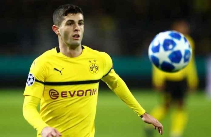 Chelsea Kepincut Statistik Apik Christian Pulisic di Borussia Dortmund