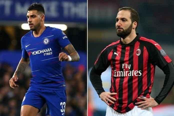 Chelsea Setuju Tukar Gonzalo Higuain dengan Emerson Palmieri