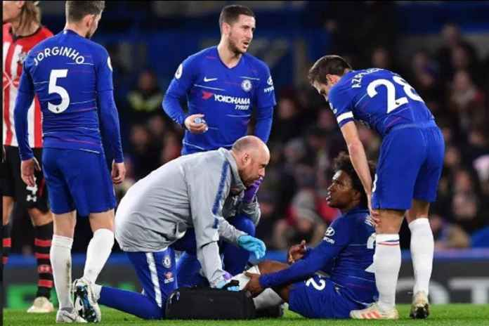 Pelatih Chelsea Yakin Cedera Willian Tak Serius
