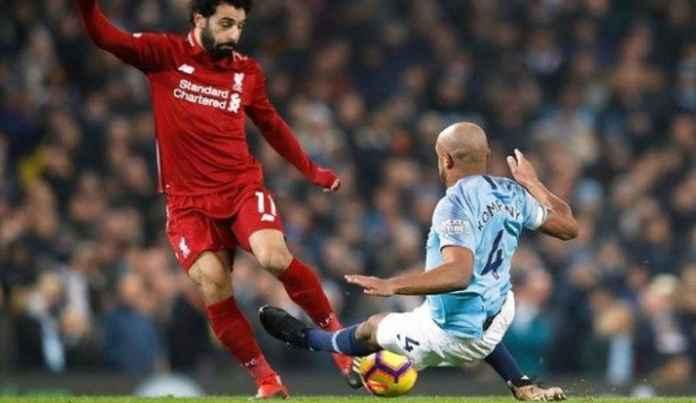 Pelatih Liverpool Protes Vincent Kompany Tak Dikartu Merah