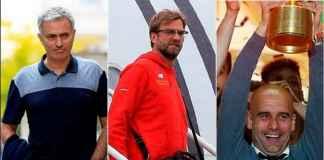 Jose Mourinho Iri pada Jurgen Klopp dan Pep Guardiola