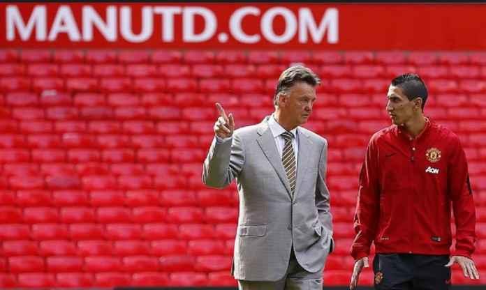 Gagal di Manchester United, Angel Di Maria Salahkan Louis van Gaal