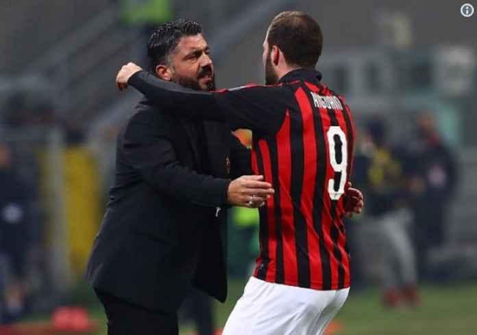 Pelatih AC Milan Akui Gonzalo Higuain Ingin Tinggalkan San Siro