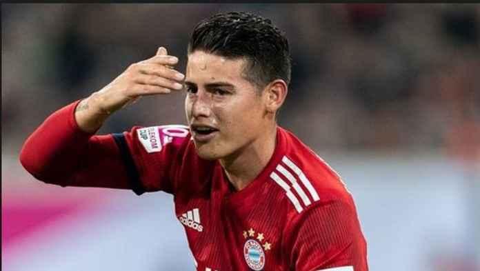 Bayern Munchen Bantah James Rodriguez akan Gabung Arsenal