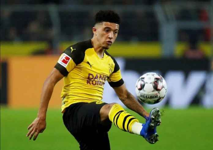 Bintang Borussia Dortmund Jadon Sancho Enggan Kembali ke Inggris