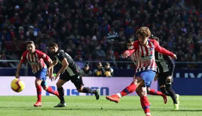 Hasil Pertandingan Atletico Madrid vs Levante, Skor 1-0