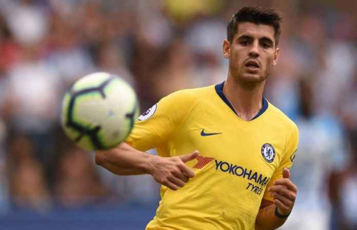 Atletico Madrid Selangkah Lagi Boyong Alvaro Morata dari Chelsea