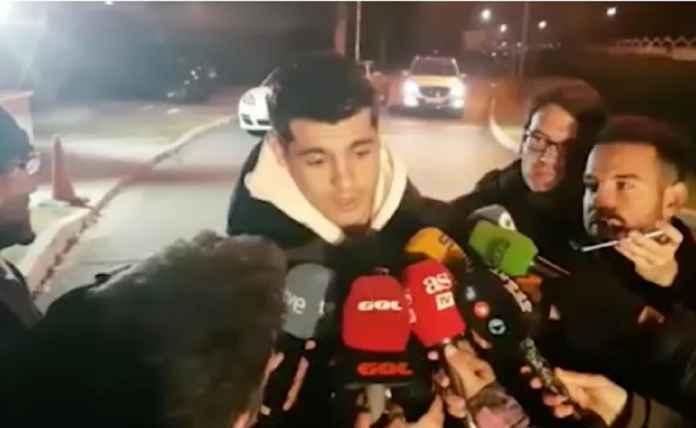 Pemain Chelsea Alvaro Morata Buka Suara Setibanya di Atletico Madrid