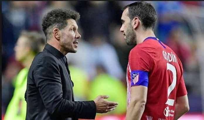 Atletico Madrid Berharap Diego Godin Bertahan Setelah Musim Ini