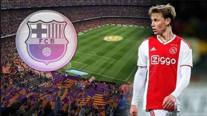 Barcelona Jadikan Frenkie de Jong Pemain Belanda Termahal di Dunia