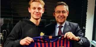 Lionel Messi Berperan Datangkan Frenkie de Jong ke Barcelona