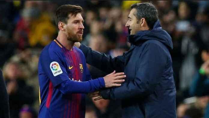 Pelatih Barcelona: Lionel Messi Berasal dari Galaksi Lain