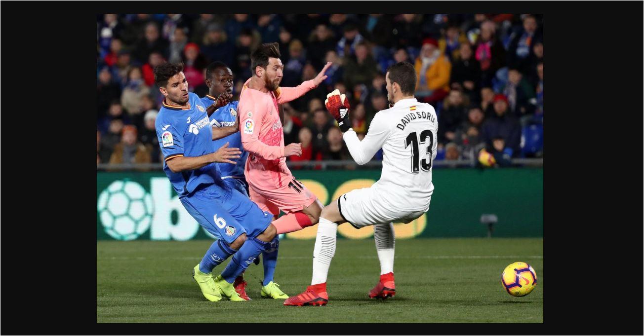 Liga Spanyol Getafe Vs Barcelona