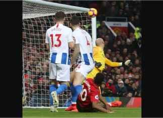 Pogba dan Rashford Bawa Manchester United Unggul 2-0