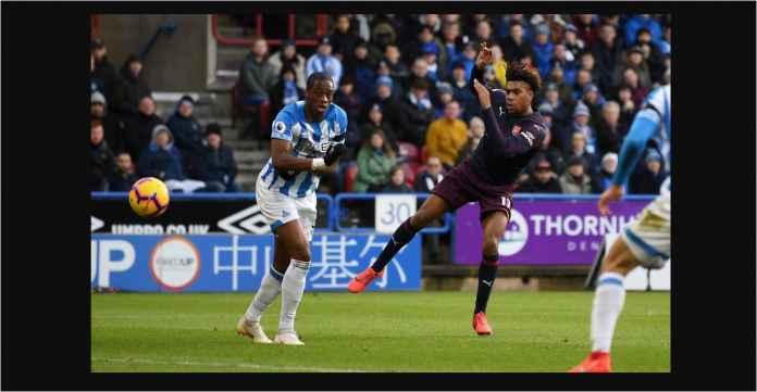 Arsenal Menang 2-1 di Huddersfield, Berkat Iwobi dan Lacazette