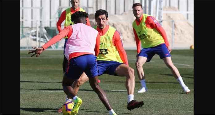 Atletico Madrid Kerahkan Empat Pemain Matikan Cristiano Ronaldo