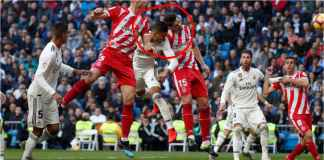 Babak Pertama Real Madrid vs Girona 1-0, Hidung Courtois Berdarah!